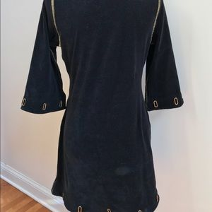 Boston Proper Dresses - Boston Proper Black Dress with Grommets
